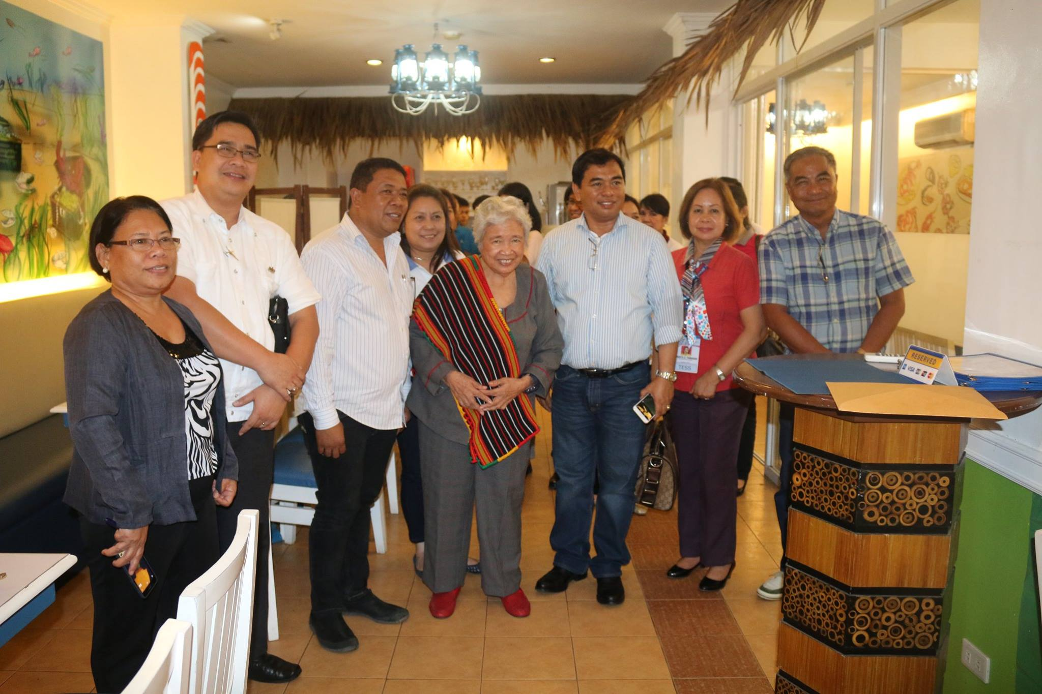 Sec. Briones' first visit captures hearts