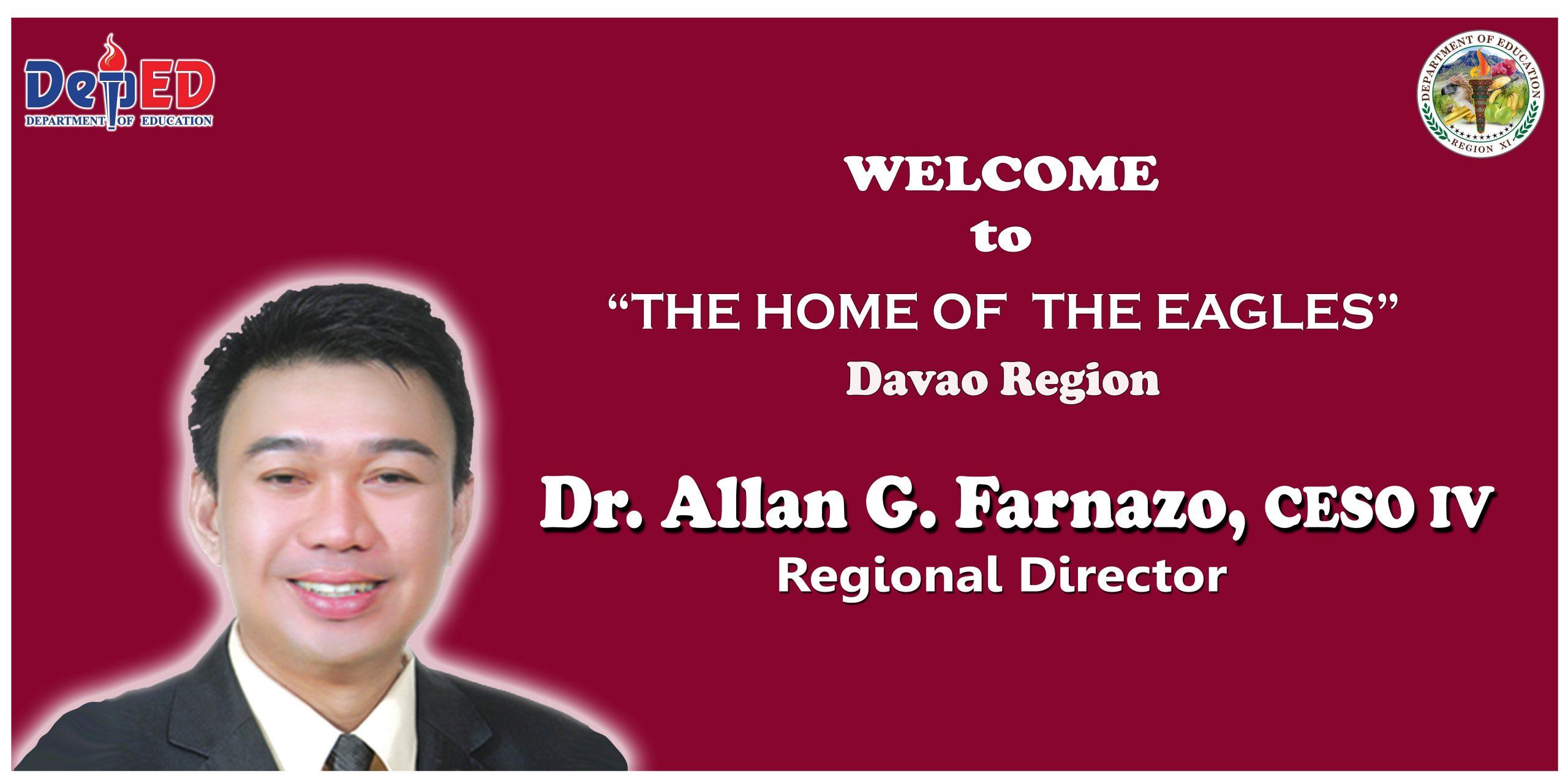 Welcome RD Allan!
