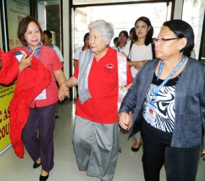 Sec. Briones arrives in DepEd
